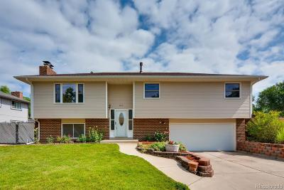 Arvada CO Single Family Home Under Contract: $412,000