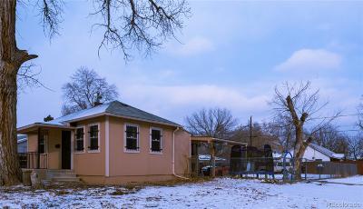 Denver Single Family Home Active: 74 South Julian Street