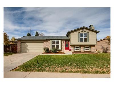 Littleton Single Family Home Active: 8065 South Estes Court