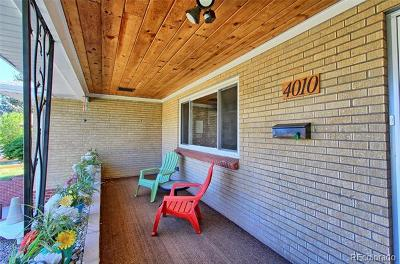 Wheat Ridge Single Family Home Active: 4010 Ammons Street