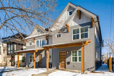 Denver Condo/Townhouse Active: 4552 Stuart Street