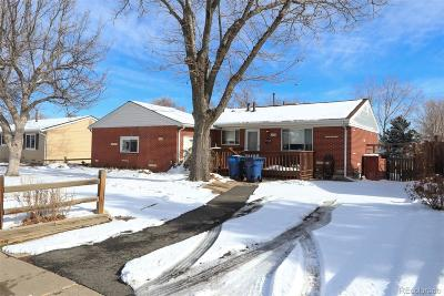 Arvada Single Family Home Under Contract: 6160 Harlan Street