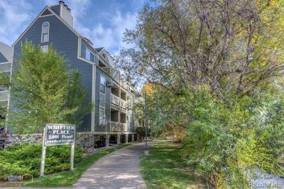 Boulder Condo/Townhouse Under Contract: 2301 Pearl Street #28