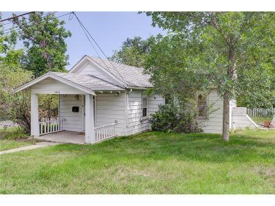 Wheat Ridge CO Single Family Home Active: $360,000