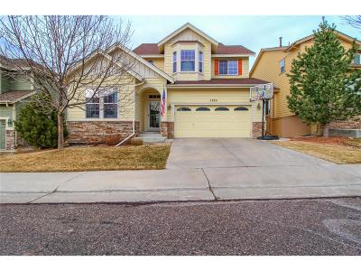 Highlands Ranch Single Family Home Under Contract: 5372 Cloverbrook Circle