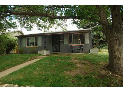 Denver CO Single Family Home Active: $309,900