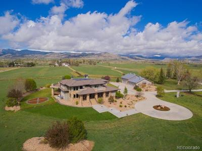 Longmont Single Family Home Active: 6078 Saint Vrain Road