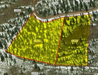 Como CO Residential Lots & Land Under Contract: $69,000