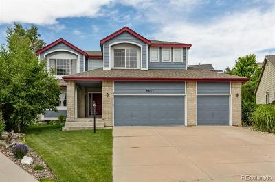 Aurora Single Family Home Active: 5643 South Cathay Court