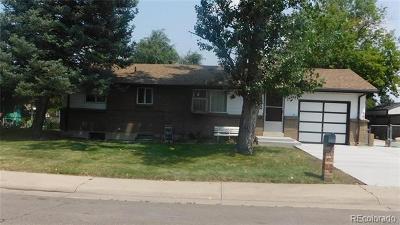 Arvada Single Family Home Active: 6762 Marshall Street