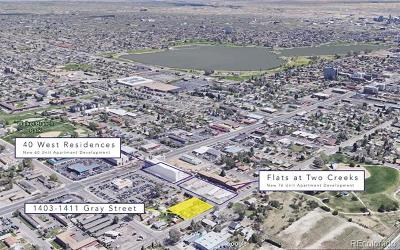 Lakewood Residential Lots & Land Active: 1411 Gray Street