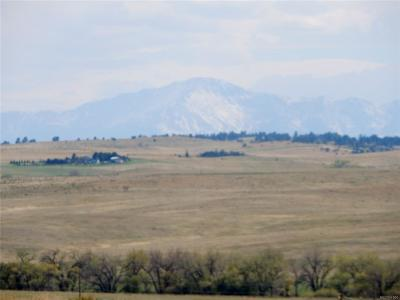 Kiowa CO Residential Lots & Land Active: $195,900