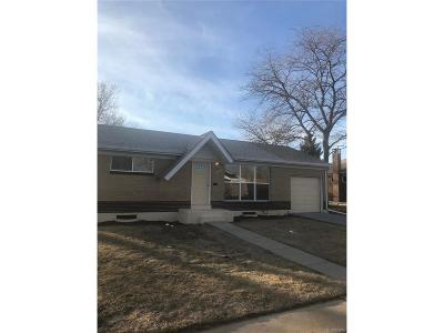 Northglenn Single Family Home Under Contract: 1262 East 108th Avenue