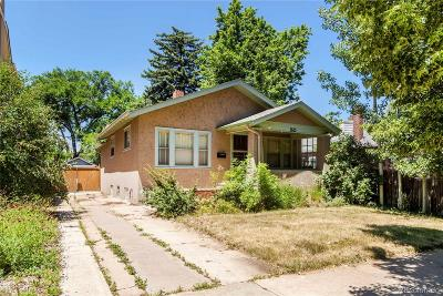 Denver Single Family Home Active: 1865 South Emerson Street