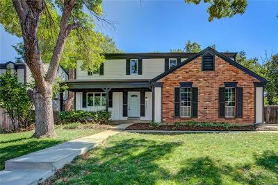 Morrison Single Family Home Sold: 12234 West Stanford Drive