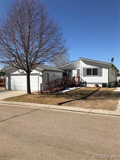 Longmont Single Family Home Active: 11479 Hot Springs #79