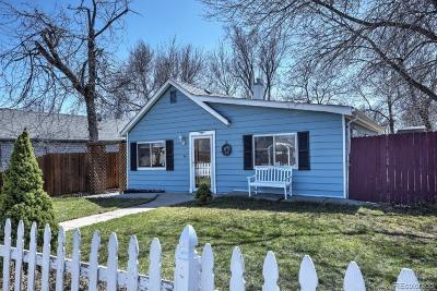 Lafayette Single Family Home Under Contract: 508 East Baseline Road