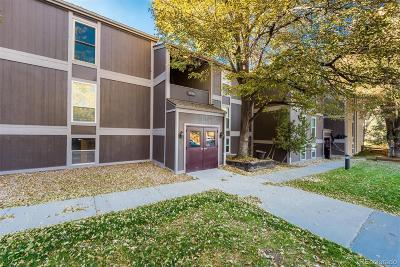 Centennial Condo/Townhouse Under Contract: 7256 South Xenia Circle #A