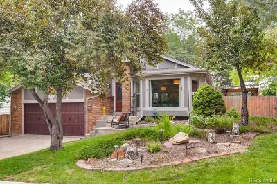 Centennial Single Family Home Under Contract: 8218 South Steele Street