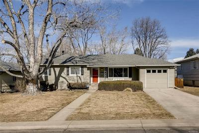 Denver Single Family Home Active: 5175 East Atlantic Place