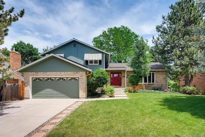 Centennial Single Family Home Active: 3157 East Otero Circle