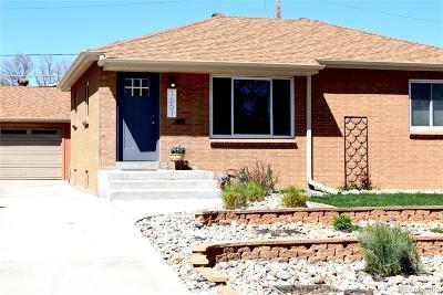 Denver CO Single Family Home Active: $360,000