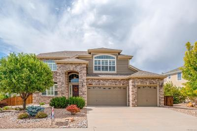 Castle Rock Single Family Home Sold: 6341 Marble Lane