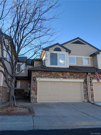 Littleton Condo/Townhouse Active: 4339 South Queen Court