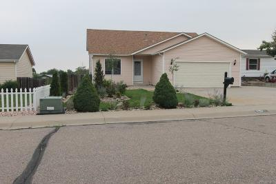 Greeley Single Family Home Under Contract: 242 33rd Avenue