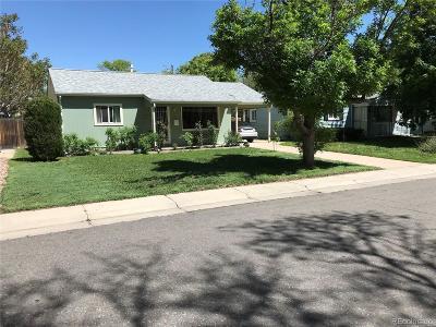 Aurora, Denver Single Family Home Under Contract: 1970 Fulton Street