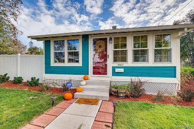 Wheat Ridge Single Family Home Under Contract: 3002 Fenton Street
