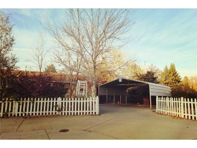 Denver Single Family Home Active: 5005 West 1st Avenue