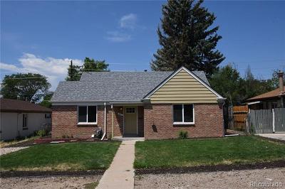 East Colfax, Montclair Single Family Home Active: 901 Quebec Street