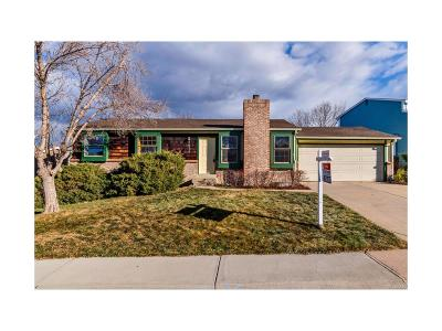 Littleton Single Family Home Under Contract: 5672 South Pierson Street
