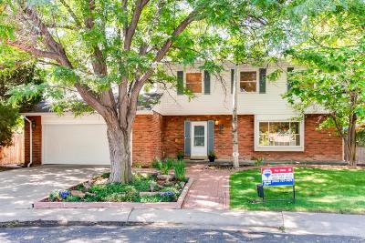Denver Single Family Home Active: 2563 South Krameria Street