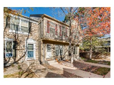 Centennial Condo/Townhouse Under Contract: 8186 South Fillmore Way