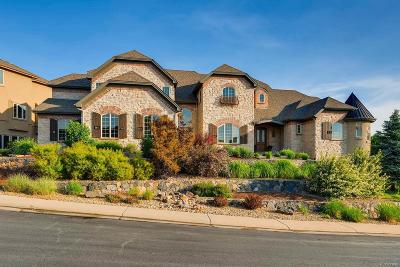 Castle Pines CO Single Family Home Active: $1,649,000