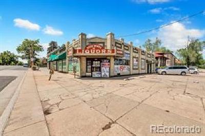 Denver Residential Lots & Land Active: 4407 Federal Boulevard