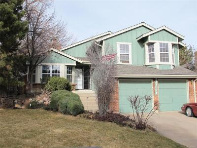 Littleton Single Family Home Active: 11321 Main Range Trail