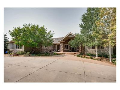 Niwot Single Family Home Active: 8777 Comanche Road