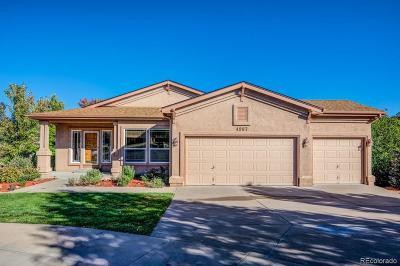 Colorado Springs Single Family Home Active: 4987 Marrieta Court