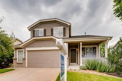 Castle Pines Single Family Home Under Contract: 1232 Berganot Trail