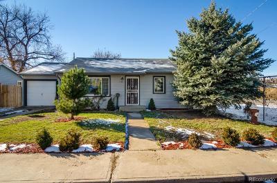 Longmont Single Family Home Active: 1139 Pratt Street