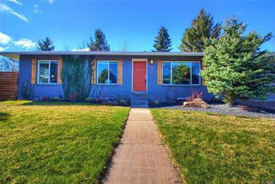 Golden Single Family Home Under Contract: 13420 West 26th Avenue