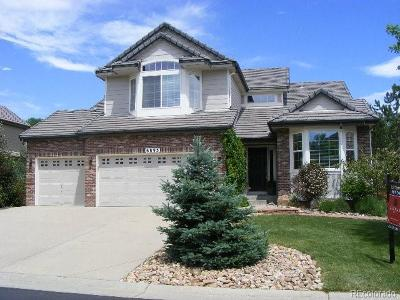 Castle Pines Single Family Home Active: 6893 Esperanza Drive