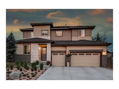 Castle Rock Single Family Home Under Contract: 4218 Dunsinane Way