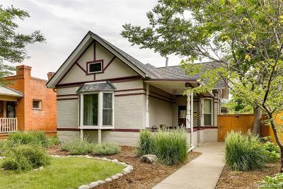 Denver Single Family Home Active: 384 South Pennsylvania Street
