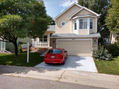 Broomfield Single Family Home Under Contract: 12217 Crabapple Street