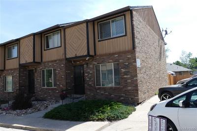 Littleton Condo/Townhouse Under Contract: 9840 West Stanford Avenue #G