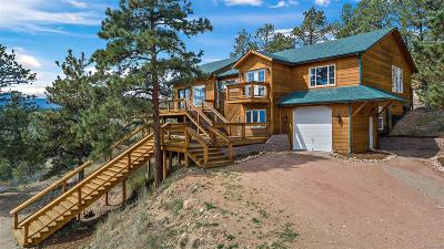 Bailey Single Family Home Under Contract: 443 Eagle Trail